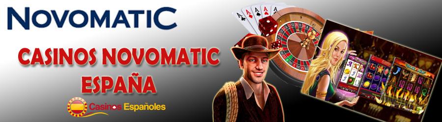 casinos online novomatic españa