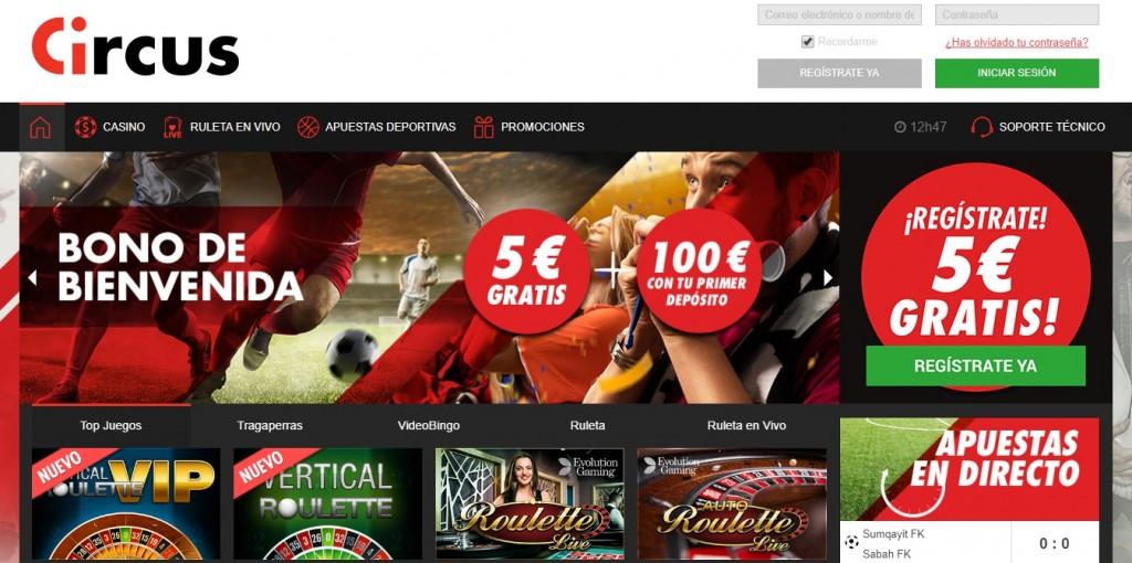 circus.es casino online espana
