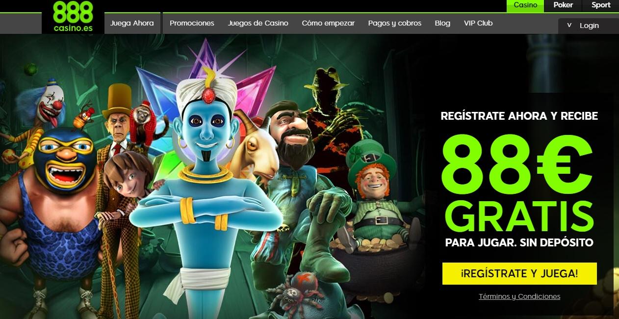 888 casino espana